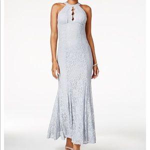 Platinum gown